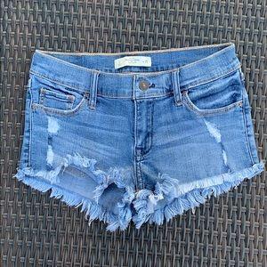 A&F Denim Shorts